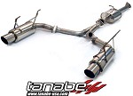 Tanabe Medallion Concept G Cat Back Exhaust - 2000-2009 Honda S2000
