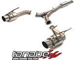 Tanabe Medallion Concept G Cat Back Exhaust - 2003-2006 Nissan 350Z