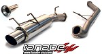 Tanabe Medallion Concept G Cat Back Exhaust - 1989-1994 Nissan 240SX