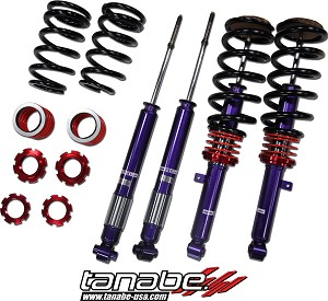 Tanabe SUSTEC PRO S-0C Coilover - 1998-02 Honda Accord 4Cyl