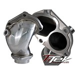 TITEK Turbo Outlet Pipe - 2003-07 MITSUBISHI EVO 8/9