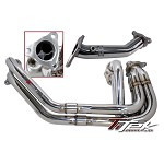 TITEK Racing Header System w Up-Pipe - 2002-07 SUBARU WRX/Sti