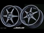 Buddy Club P1 Racing SF 16X7.0 ET40 4X100 Gunmetallic