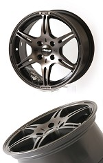 Buddy Club F91 Kuroki 17X8.0 ET45 5X114 Bronze Black