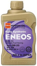 ENEOS Synthetic Motor Oil 0W-20 (6 Quarts)