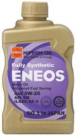 ENEOS Synthetic Motor Oil 5W-20 (6 Quarts)