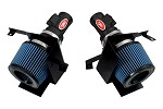 Injen Short Ram Intake - 2007-08 Nissan 350Z 3.5L V6 w/ MR Technology, Air Fusion and Air Horns (BLACK)