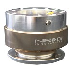 NRG Innovations - Quick Release Gen 1.0 (Silver Body w/ Titanium Ring)
