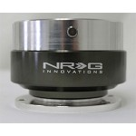 NRG Innovations - Quick Release Gen 1.0 (Silver body w/ Black Chrome ring)