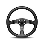MOMO Steering Wheel - Competition Black Airleather 350mm