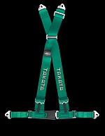 TAKATA Drift III snap - 4pt snap-on (buckle on right lap belt) - (Green)