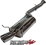 Tanabe Medallion Touring Single Cat Back Exhaust - 1993-1997 Mazda RX-7