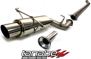 Tanabe Medallion Concept G Cat Back Exhaust - 1995-1998 Nissan 240SX