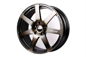 Buddy Club F07R Forged 18X7.5 ET42 5X114 Bronze Black