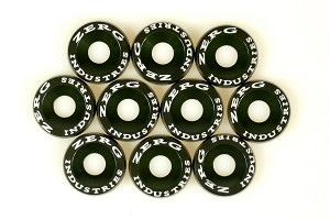 ZERG FENDER WASHER KIT 10 PIECES ARMY GREEN