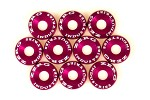 ZERG FENDER WASHER KIT 10 PIECES PINK